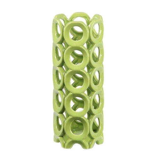 Ceramic Circles Vase