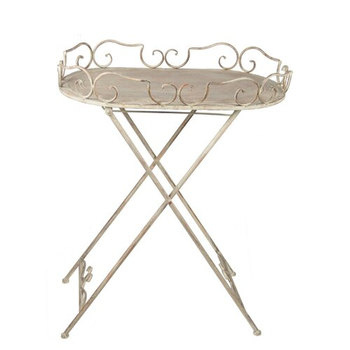 Iron Accent Table