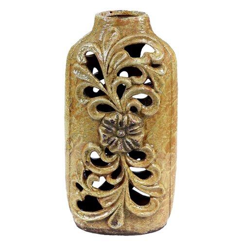 Ceramic Pierced Vase
