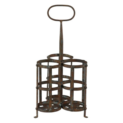 3 Bottle Hanging Wine Rack