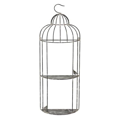2 Tier Bird Cage Wall Decor