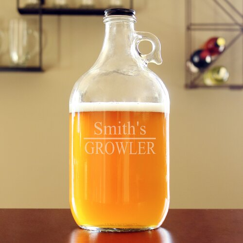 Personalized Home Brew Beer Growler