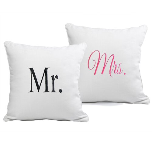 Mr. & Mrs. Pillow (Set of 2)