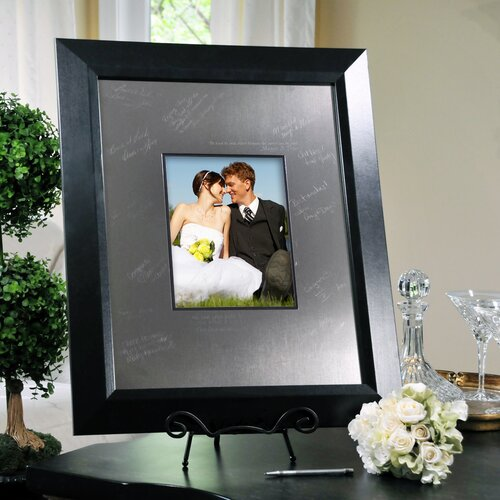 Cathys Concepts Wedding Contemporary Signature Picture Frame