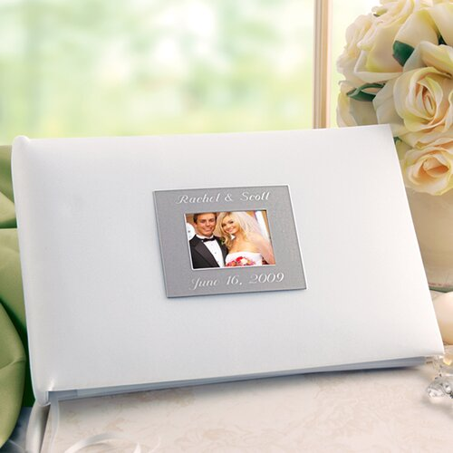 Cathys Concepts Wedding Personalized Photo Guest Book