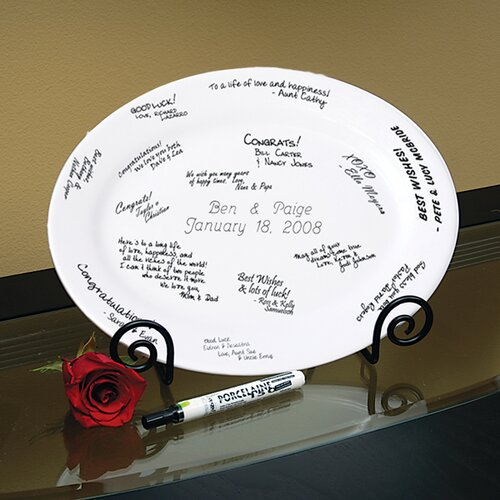 Personalized Guest Book Platter