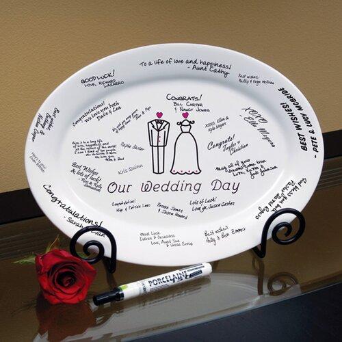 Our Wedding Platter