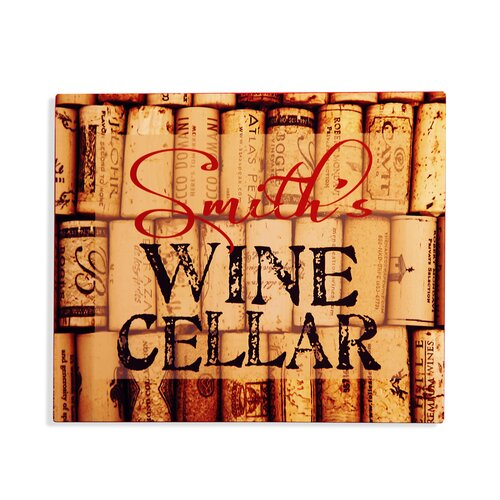 Wine Cellar Bar Sign Graphic Art Plaque