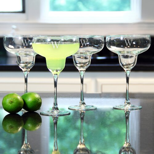 Personalized Margarita Glass
