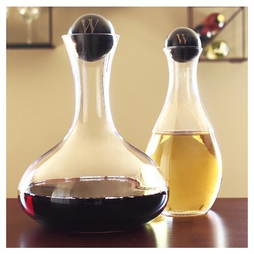 Cathys Concepts Personalized Wine Decanter