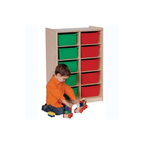 Steffy Wood Products 10 Compartment Cubby