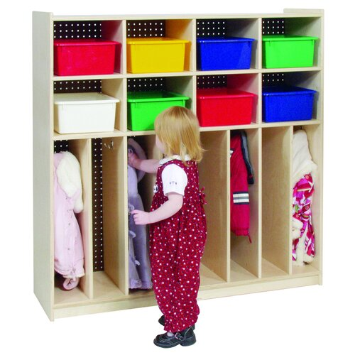 Steffy Wood Products Eight Section Locker