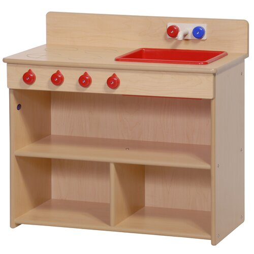 Steffy Wood Products Value Line 2-in-1 Kitchen Unit