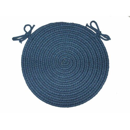 Braided Hook Round Chair Pad