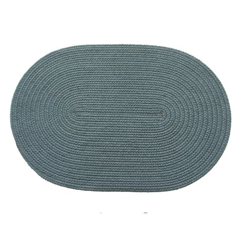 Rhody Rug Solid Ocean Blue Indoor/Outdoor Rug