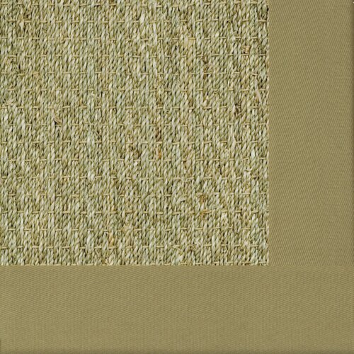 Fibreworks Botanical Blends Spring Green Mist Bordered Rug