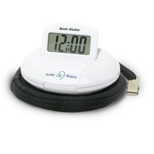 Sonic Alert Sonic Boom Portable Vibrating Alarm Clock