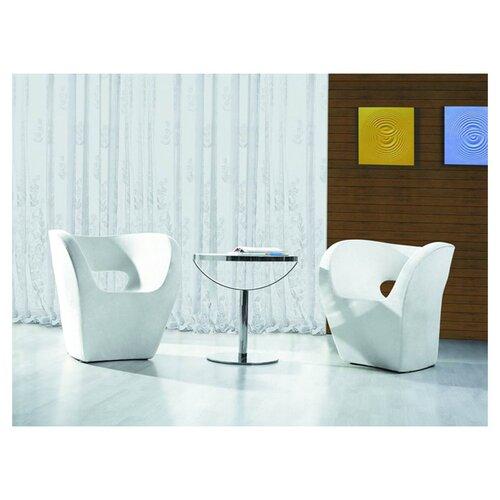 International Design USA Barcelona Bi-Cast Leisure Leather Side Chair