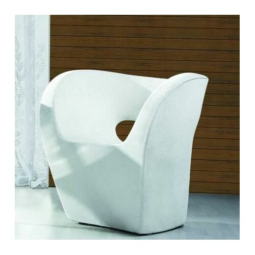 International Design USA Barcelona Bi-Cast Leisure Leather Side Chair