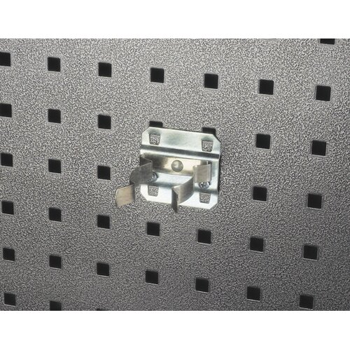 LocHook 1-1/2 In. to 2-3/4 In. Hold Range 3-3/4 In. Projection Zinc Plated/Chromate Dipped ...
