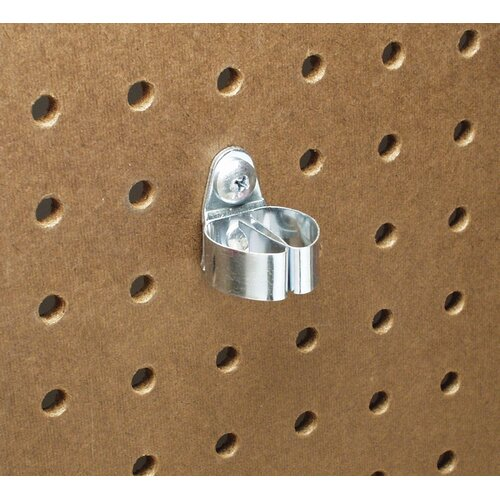 DuraHook 1/4 In. to 1/2 In. Hold Range 1-1/8 In. Projection Annealed Chromate Dipped Steel ...