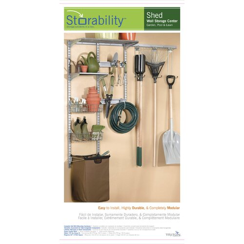 """Triton Products 66""""Lx63""""H Shed Storage System"""