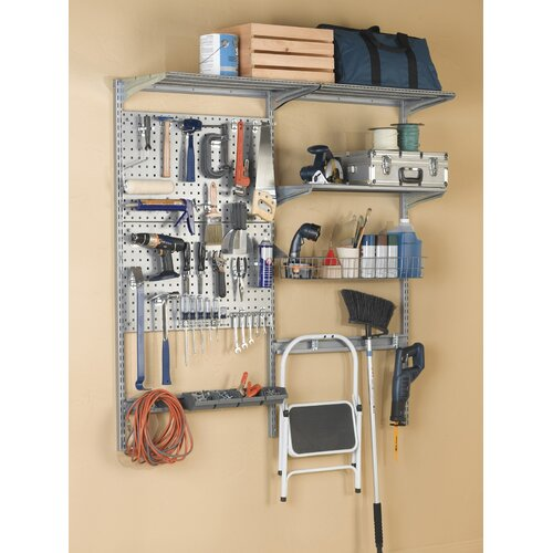 "Triton Products 66""Lx63""H Double LocBoard System"