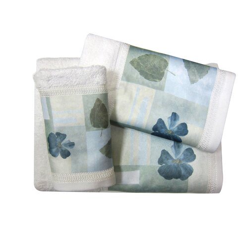 Croscill Home Fashions Spa Leaf Bath Towel