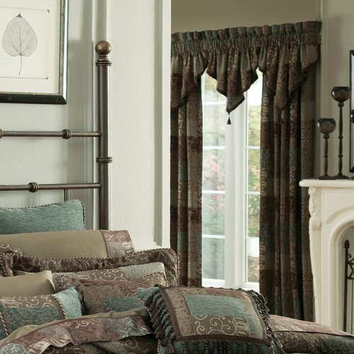 Croscill Home Fashions Galleria Pole Top Rod Pocket Drape Panel