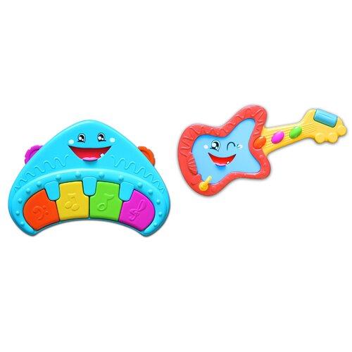 Rocky Ricky Guitar and Classy Casey Piano Toys