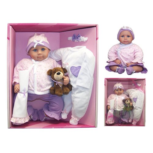 Baby Emily Doll Set and Accessories