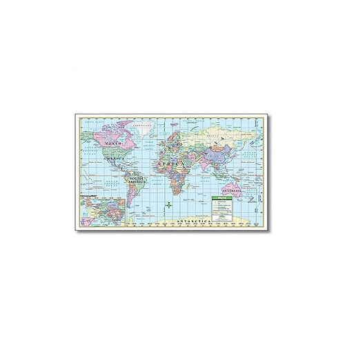 Universal Map Rolled Map - Paper