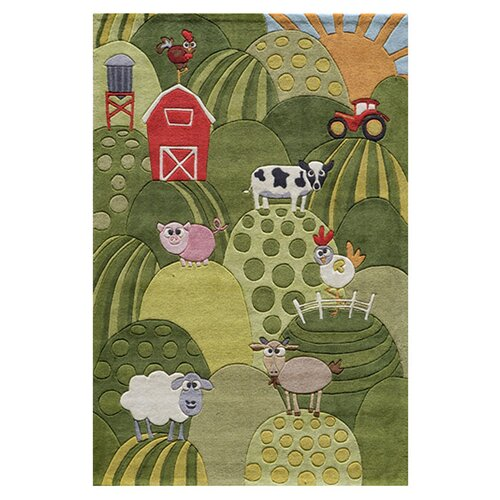 Momeni Lil' Mo Whimsy Grass Kids Rug