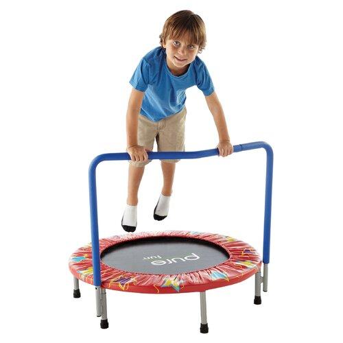 pure fun kids 36 mini trampoline reviews wayfair. Black Bedroom Furniture Sets. Home Design Ideas