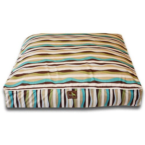 Waves Easy-Wash Cover Rectangle Dog Pillow