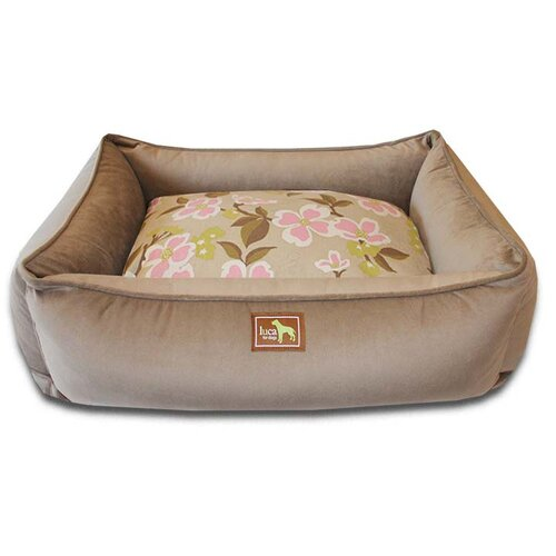 Meadow Easy-Wash Cover Lounge Donut Dog Bed