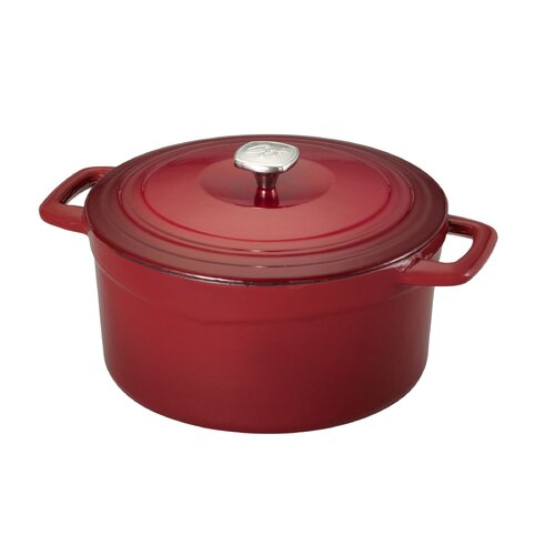 7-qt. Cast Iron Round Dutch Oven