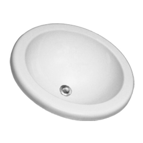 CorStone Advantage Series Clio Self Rimming or Undermount Round Bathroom Sink
