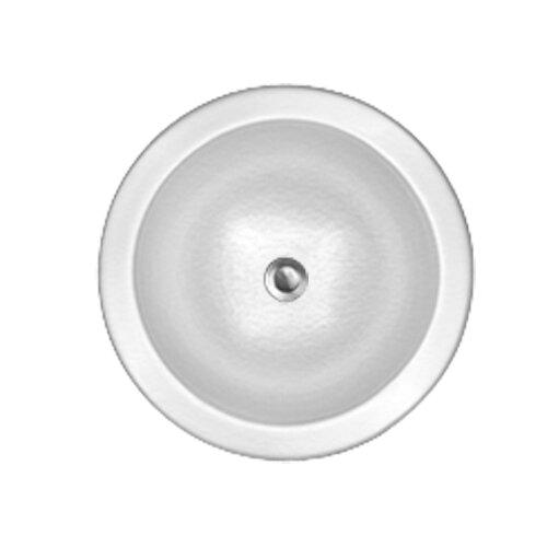 CorStone Advantage Series Elmwood Self Rimming or Undermount Round Bathroom Sink
