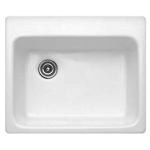 "CorStone Advantage Series 25"" x 22"" Bristol Single Bowl Self Rimming Kitchen Sink"