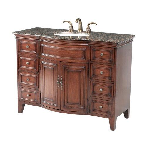 """Stufurhome Yorktown 48"""" Bathroom Vanity Set"""