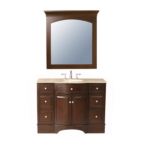 "Stufurhome Lotus 48"" Bathroom Vanity Set"