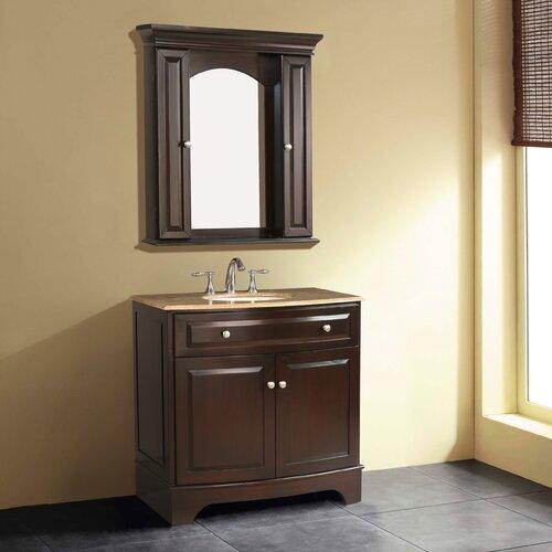 """Stufurhome Amanda 36"""" Bathroom Vanity Set"""