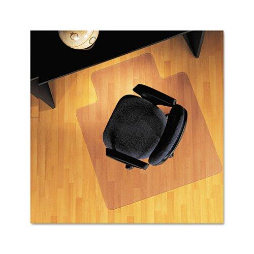 Lip Chair Mat, Economy Series for Hard Floors