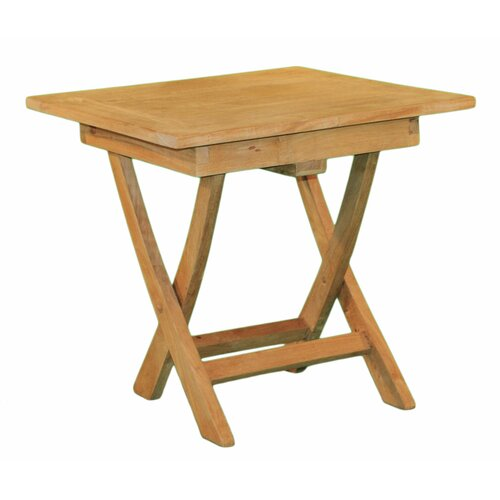 Jewels of Java Square Folding Side Table