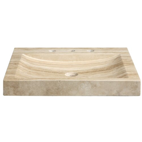"Xylem 24"" Marble Vanity Top with Integrated Bowl"