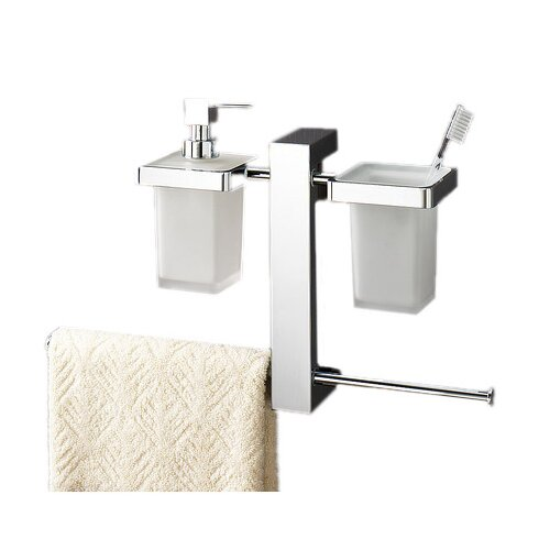 Bridge Wall Mounted Bathroom Butler