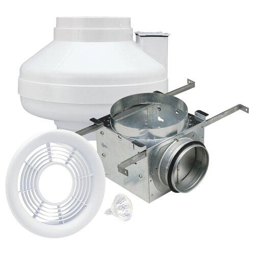 In Line 100 CFM Energy Star Exhaust Bathroom Fan