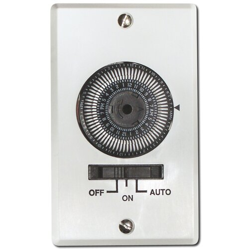 Air King Electromechanical Switch in White