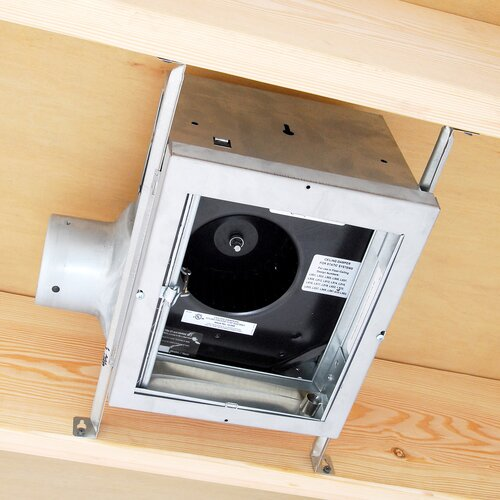 100 CFM Energy Star Quiet Dual Speed Exhaust Bathroom Fan